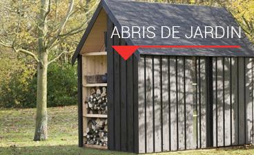 abris de jardin bois